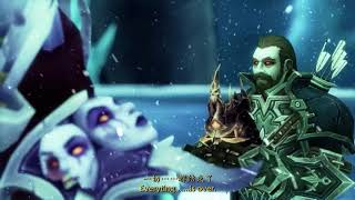 "Машинима ""Концовка World of Warcraft Battle for Azeroth"" [Перевод Ru-version]"