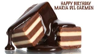 MariadelCarmen   Chocolate - Happy Birthday