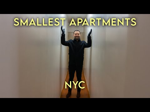 Inside the SMALLEST Apartments in New York City