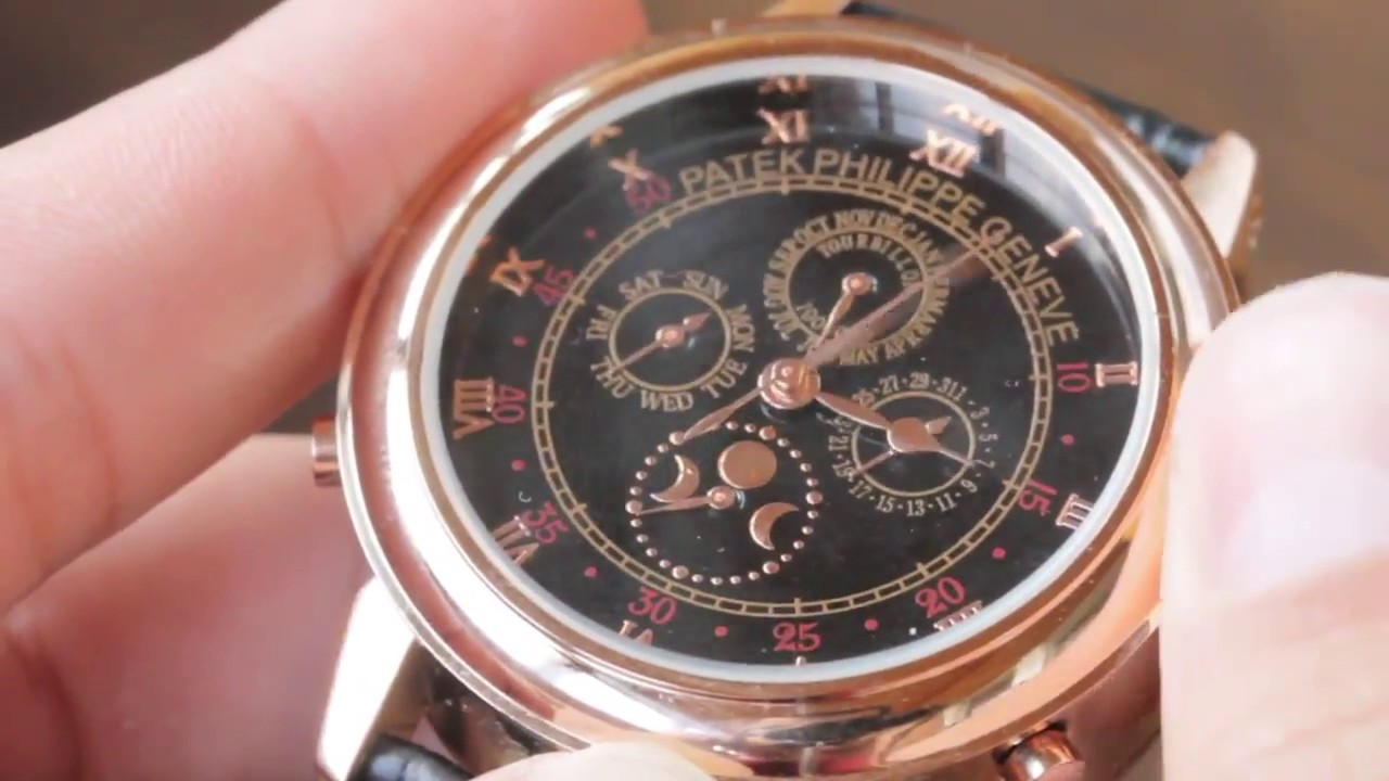Часы PATEK PHILIPPE. Как отличить подделку patek philippe geneve .