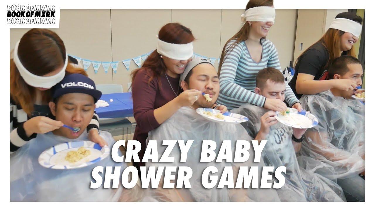 Craziest Baby Shower Games Youtube