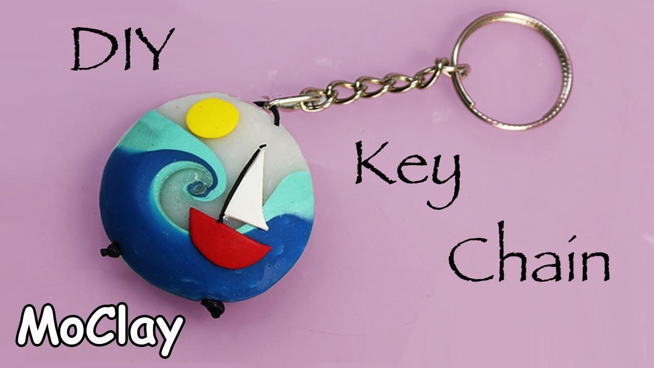 BFF Handmade Polymer Clay Keychain