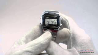 Обзор мужских часов Casio A163WA-1QGF