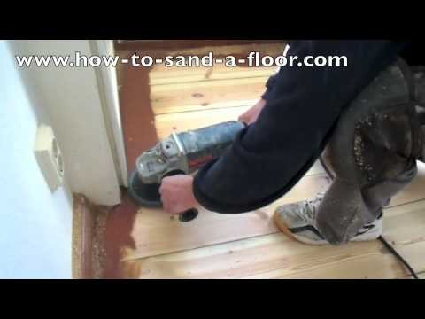 How To Sand A Hardwood Floor With A Belt Sander