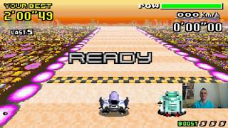 Let's Play F-Zero - MaxVelocity I Part 138 I die Comet-Crystal-Bishop-Duelle