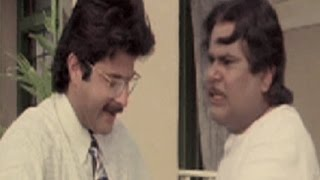 Satish Kaushik argues with Anil Kapoor - Andaz, Comedy Scene 16/22
