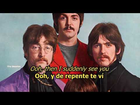 Got to get you into my life - The Beatles (LYRICS/LETRA) [Original]