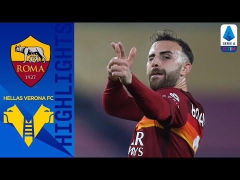 AS Roma Helas Verona Goals And Highlights