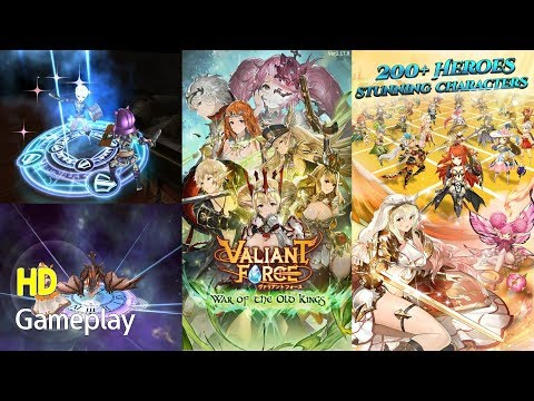 Valiant Force - Strategy RPG Android Game App