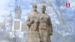 Село Мазанка Симферопольского р-на. Памятник погибшим односельчанам