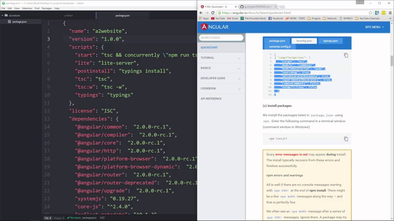 Learn How to Build Simple Website With Angular 2 - Part 2