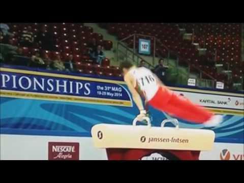 Reportage for David Huddleston  the youngest star of Bulgarian Artistic Gymnastics