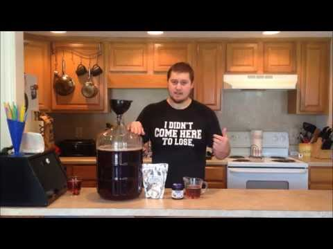 How to make cranberry wine from juice - part 1