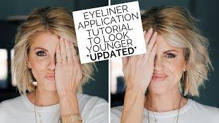 Eyeliner Application Tutorial | UPDĄTED (Make Yourself Look Younger)