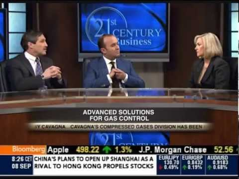 Cavagna Group on Bloomberg Television , interview with Rino Cavagna and Richard Darché