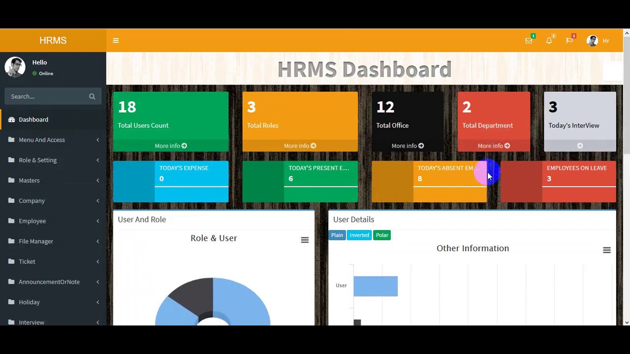 HRMS PRO Human Resource Management System Version 2 0 asp net mvc Open  Source hrms