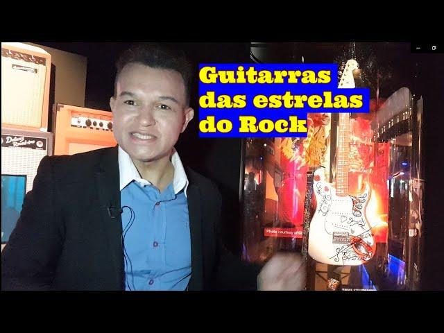 As guitarras das estrelas do Rock