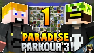 ÚÚÚGY ÚGY! - Minecraft: Parkour Paradise 3 w/zsDav