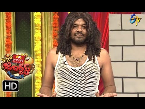 Sudigaali Sudheer Performance | Extra Jabardsth | 25th  August 2017| ETV  Telugu