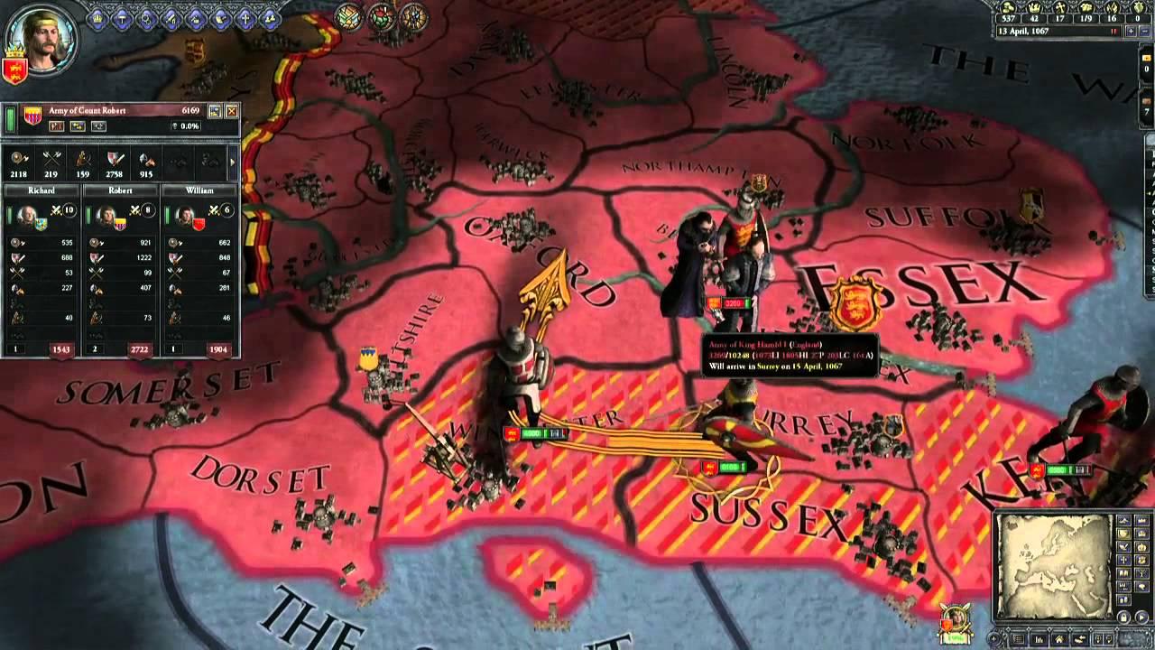 crusader kings ii gameplay youtube