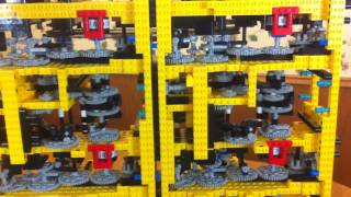Babbage Difference Engine made with LEGO