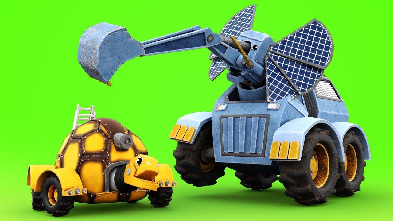 AnimaCars - JONNY busca el PERDIDO CAMION BOMBERO - caricaturas para niños con camiones & animales