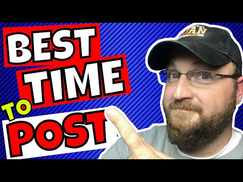 The Best Time to Post on YouTube 2018