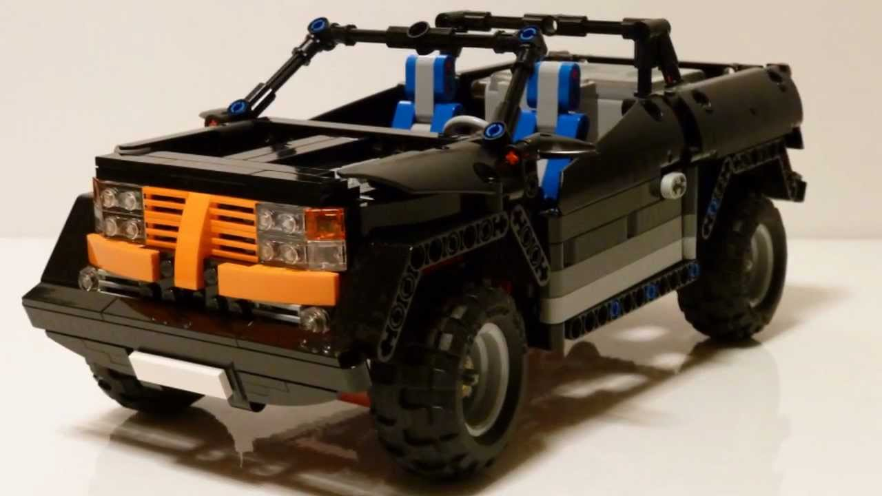 lego technic small off road car youtube. Black Bedroom Furniture Sets. Home Design Ideas