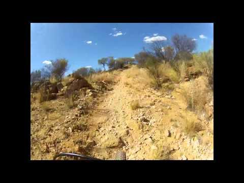 MTB Alice Springs- Valentine's Way Wallaby & Fence line tracks .avi