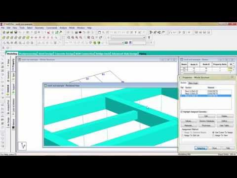 Analysis & Design by Staad pro V8i Software lecture 9