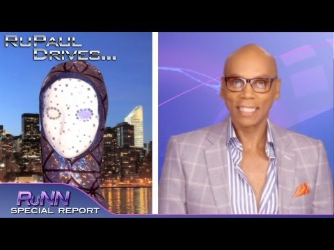 RuPaul Drives... Vivacious and Ornacia