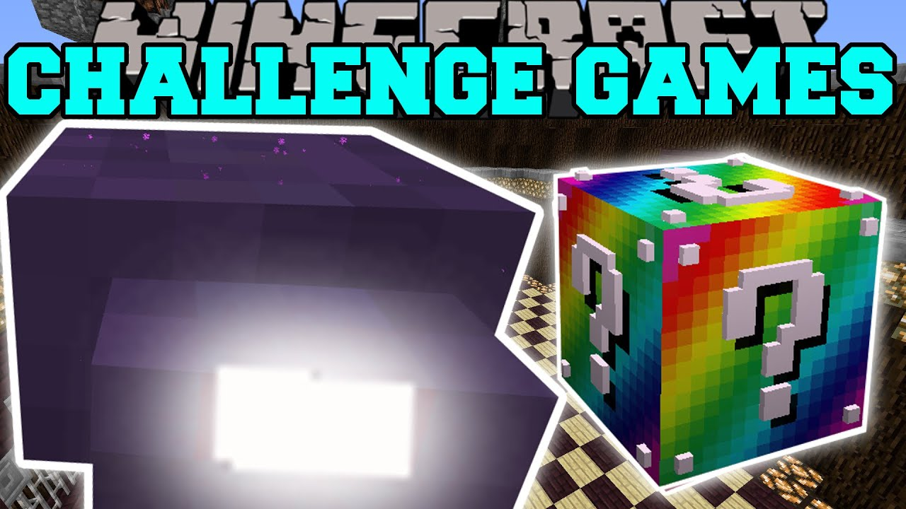 Minecraft: MIGHTY MITE CHALLENGE GAMES - Lucky Block Mod ...