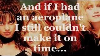THE BANGLES - MANIC MONDAY (Lyrics)