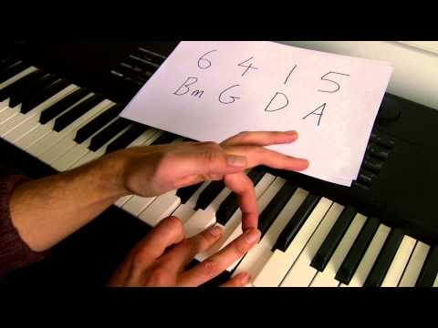 How to play 'Say Something' on piano - A Great Big World & Christina Aguilera. Part 1: Verse.