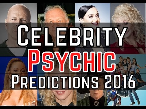 Celebrity Psychic Predictions for 2016 | Mariah Carey | Stan Lee | Hugh Hefner and more!