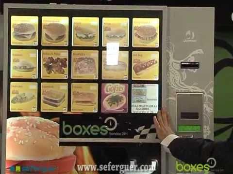Maquina expendedora de comida caliente gourmet youtube - Maquinas expendedoras de alimentos y bebidas ...