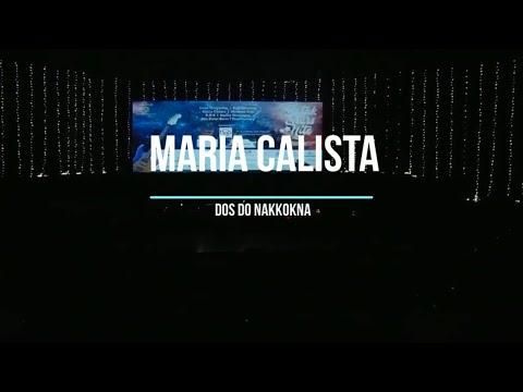 MARIA CALISTA, Dos Do Nakkokna Lirik, Lagu Batak