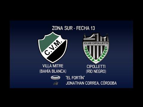 Fútbol en vivo: Villa Mitre vs. Cipolletti