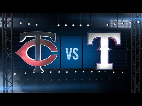 7/9/16: Rosario's big day powers Twins over Rangers