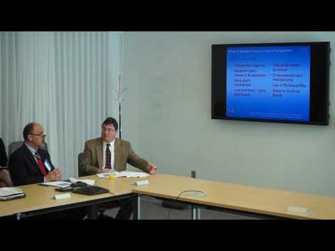 GMB Forum - National Science Foundation: Innovations in Award Oversight and Business Assistance
