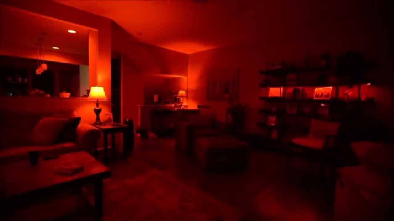 onswitch halloween scenes for philips hue lights youtube