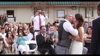 Our Wedding Story (& OUR FIRST KISS EVER!)