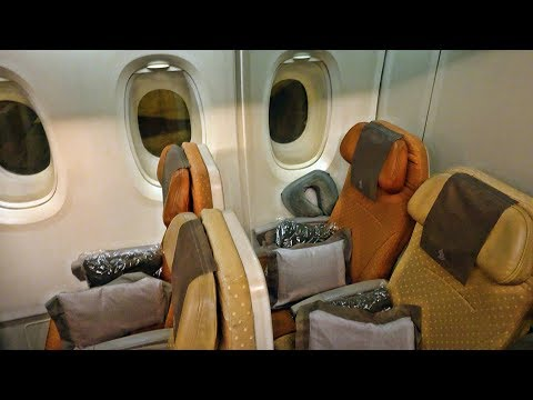 SINGAPORE AIRLINES | SINGAPORE-ZURICH | ECONOMY CLASS | A380