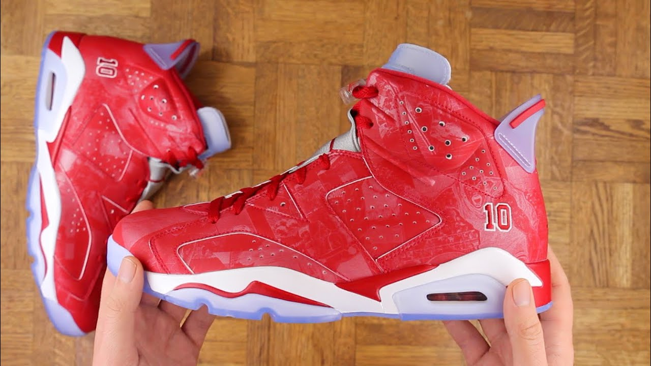 buy online 6cadf e73f5 Air Jordan 6 Slam Dunk Review!