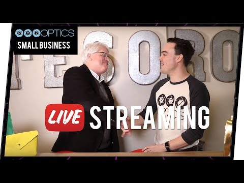 Small Businesses Live Streaming - Subsidized by Business Improvement District