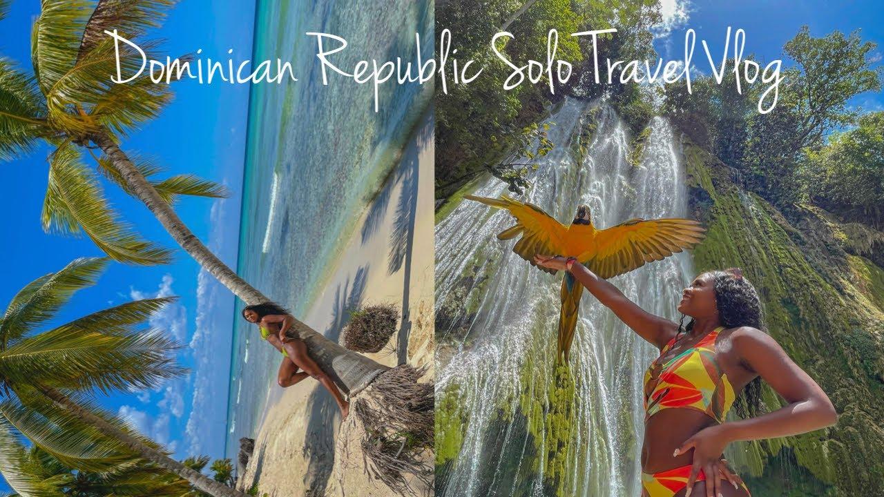 Dominican Republic Solo Travel Vlog: Samanà + Saona Island + Punta Cana