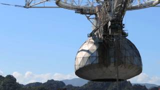 Arecibo Observatory radio telescope receiver