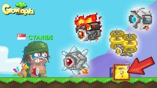 ROBOTS DEFEND MY WL! | GROWTOPIA