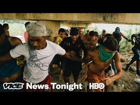 Armed Pro-Maduro Civilians Are Stopping Aid From Getting Into Venezuela (HBO)