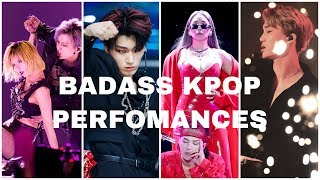 Download lagu TOP 17 MOST BADASS KPOP LIVE PERFORMANCES